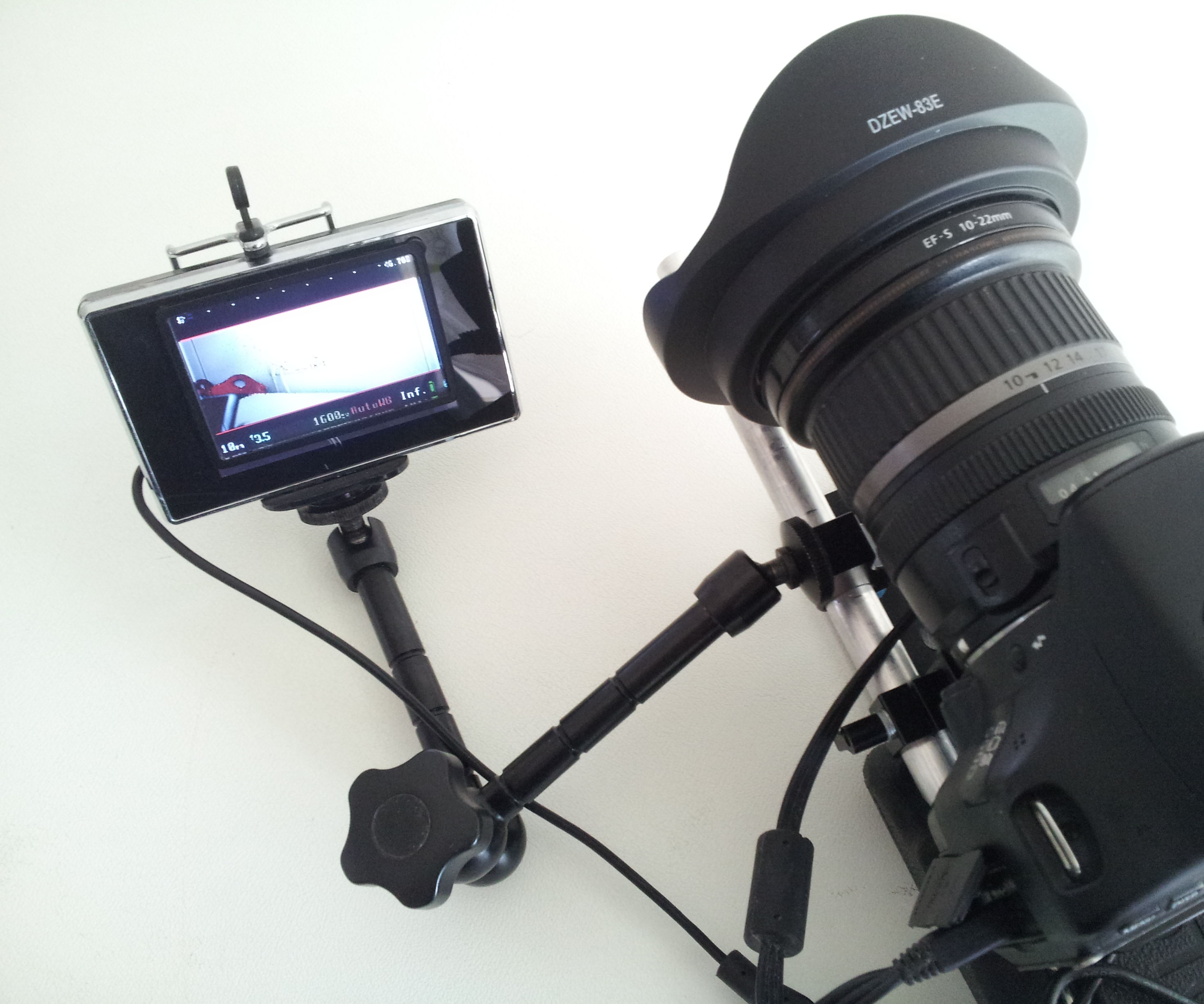 Affordable external monitor / EVF for DSLR