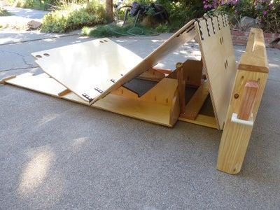 Recliner-Bunk for Camper