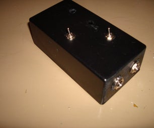 Simple Overdrive Effect Pedal