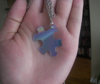 How to Make Pendants and Charms From Old CDs