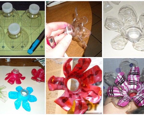 Fleur De Plastic Bottle