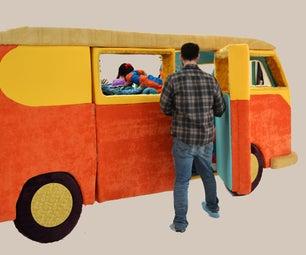 Build a Life-sized Plush VW Campervan