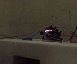 Simple  1 Inch High Voltage Arc