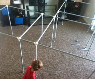 Easy Rebuildable PVC Fort