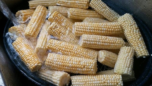 Blanching Your Corn for Freezing