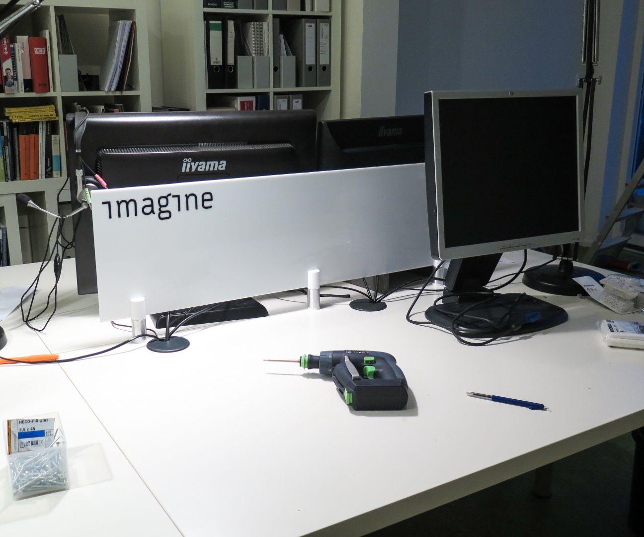 desk partition panel