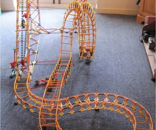 Knex Roller Coaster .