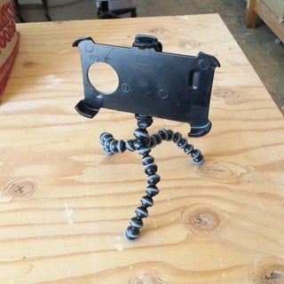 Quick & Dirty Tripod Mount for a Galaxy S4 in an Otterbox Defender Case