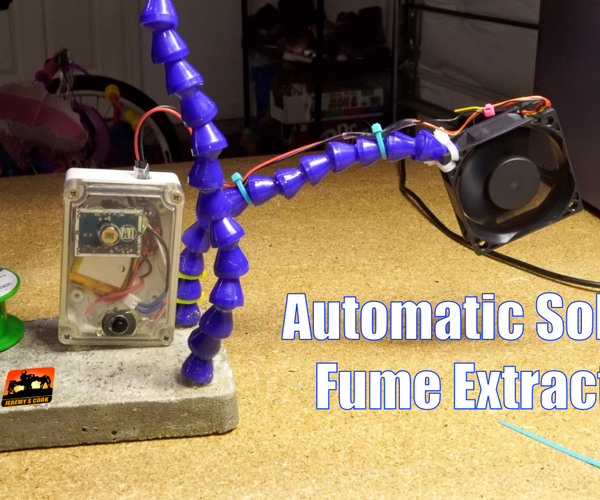 Automatic Fume Extractor [PIR]