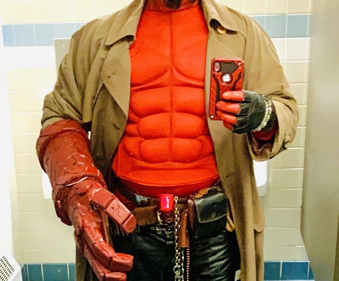 Hellboy Costume