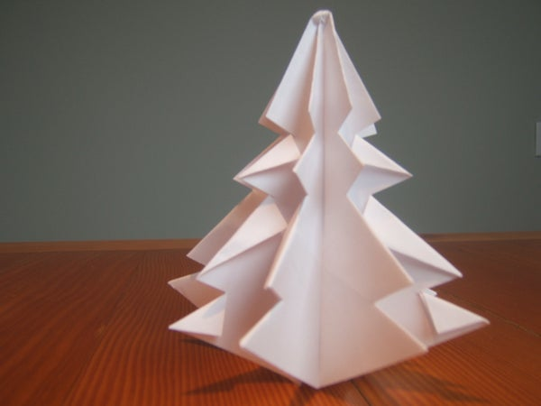 PaperCraft Christmas Tree