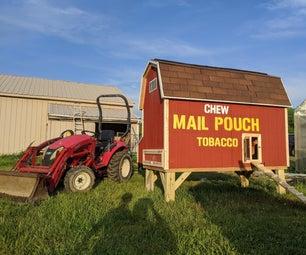 Mail Pouch Chicken Coop