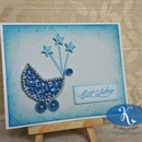 Quilled Card - Twinkle Twinkle Little Star