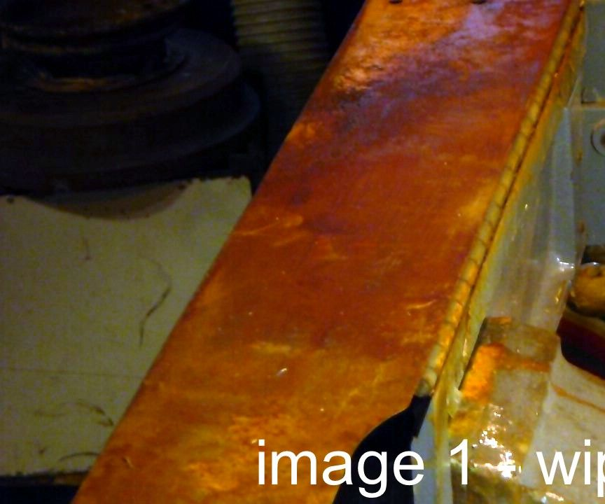 Clean Up Rust on Tools & Machinery