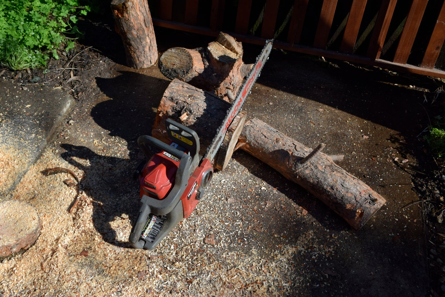 Clean Up Your Space and Cut Logs