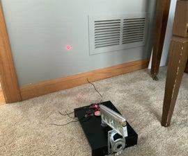 Analog Laser Display With Speakers