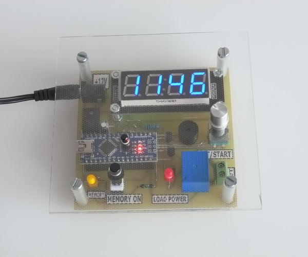 Timer With TM1637 and Arduino
