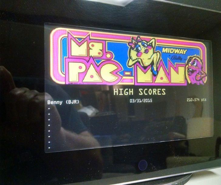 Digital High Score Display for Game Room / Arcade