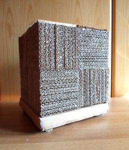Cube Cardboard Lamp