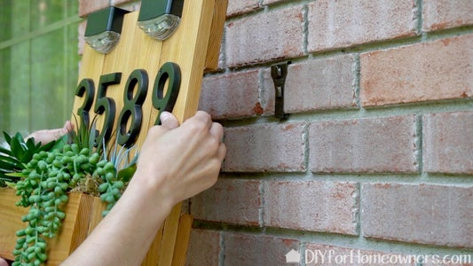 Fill Planter Box and Attach to House