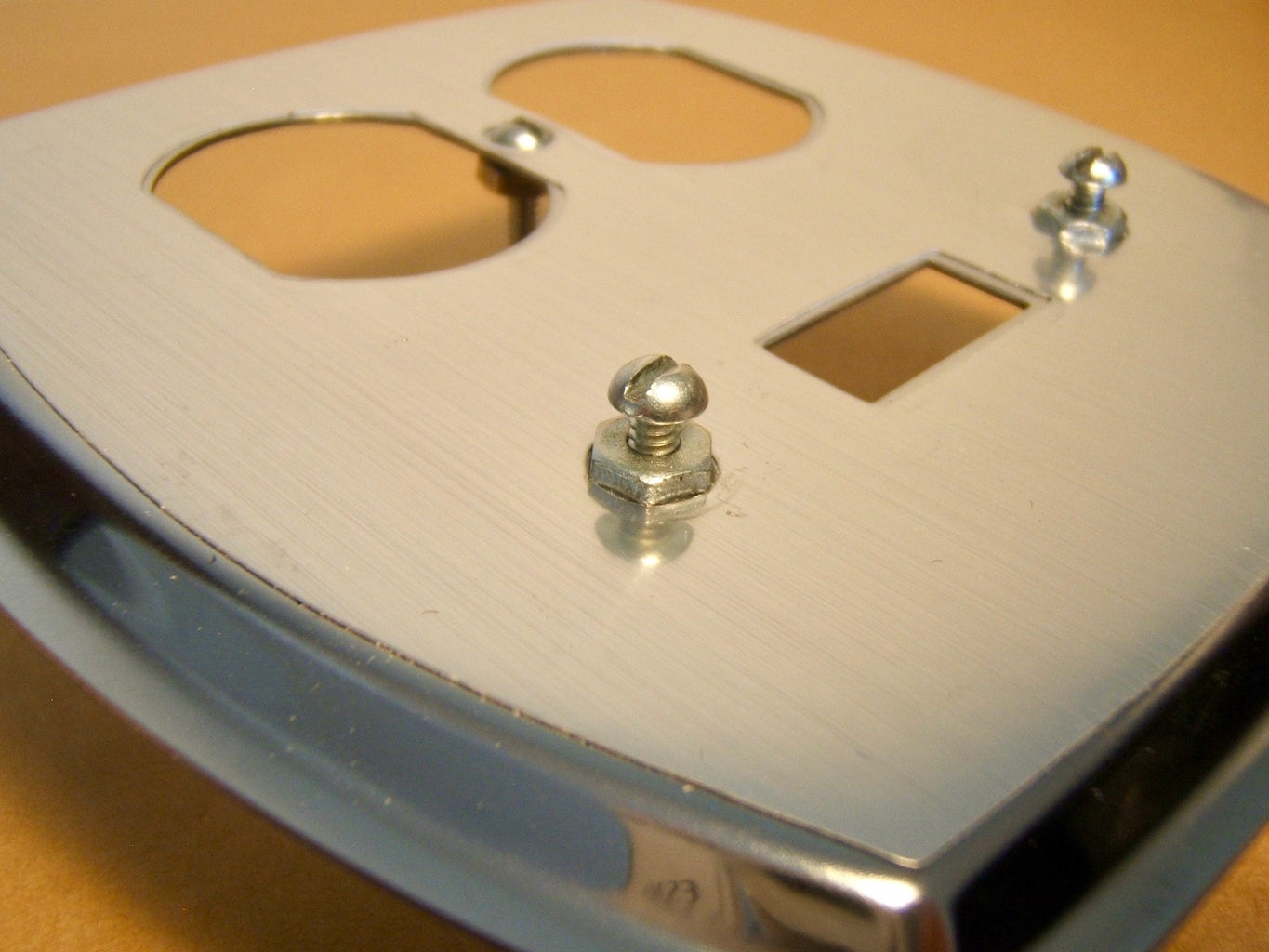 Attach Bolts to the Wallplate