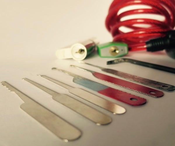 Make Lockpick Tools