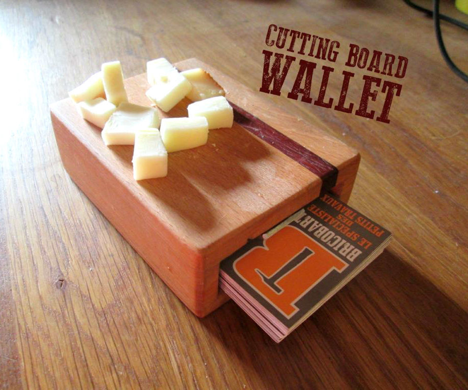 Cutting Board Wallet