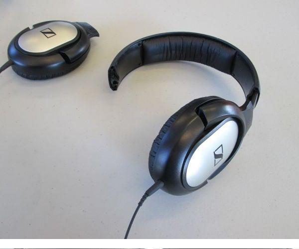 Over-Ear Headphone Fix, With Sugru