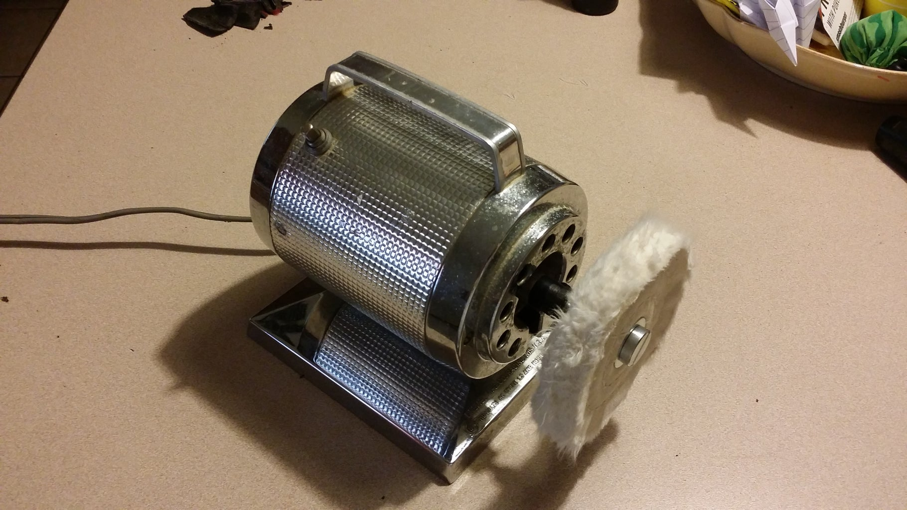 Fast and Cheap Desktop Polisher