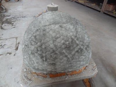 Finishing the Dome.