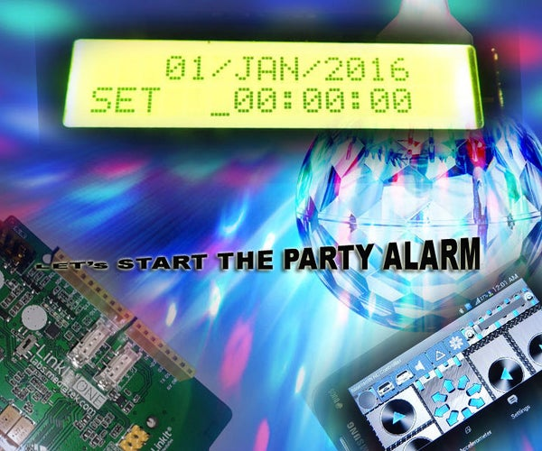 Party Start Alarm With BT Settings