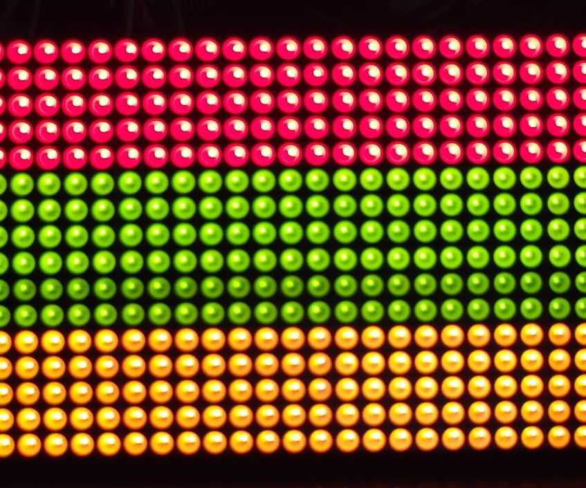 32x16 LED Matrix Panel and Arduino