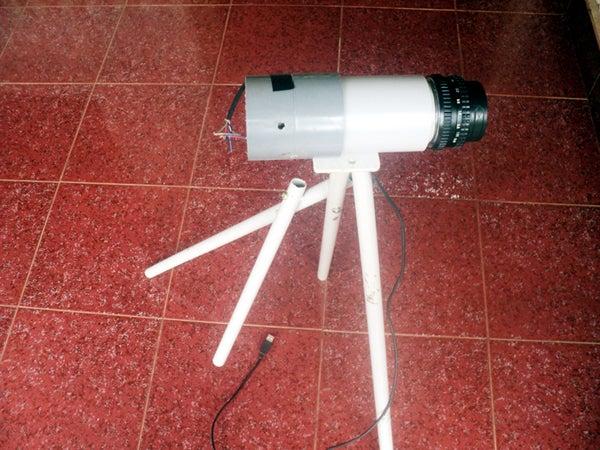 Make Simple Digital Telescope