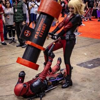 Gwenpool Rocket Launcher