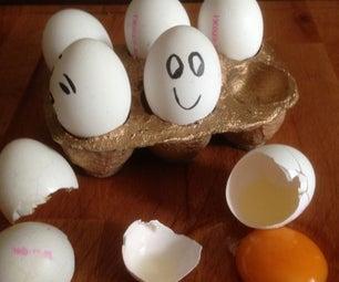 Concrete Egg Stand