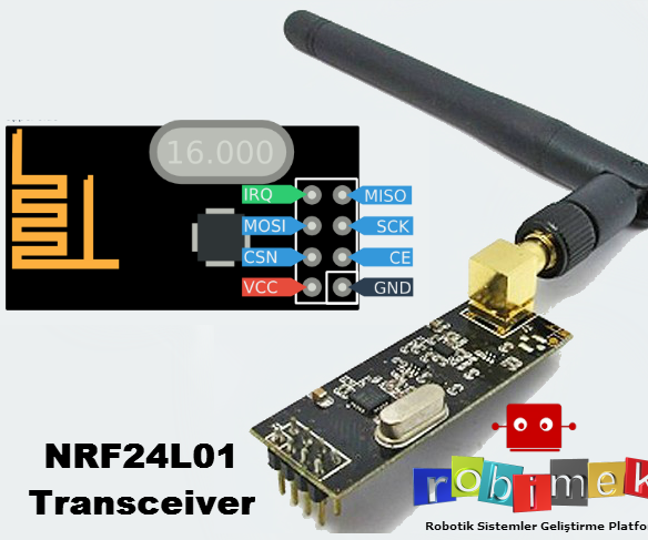 Arduino Using NRF24L01 Rf Module