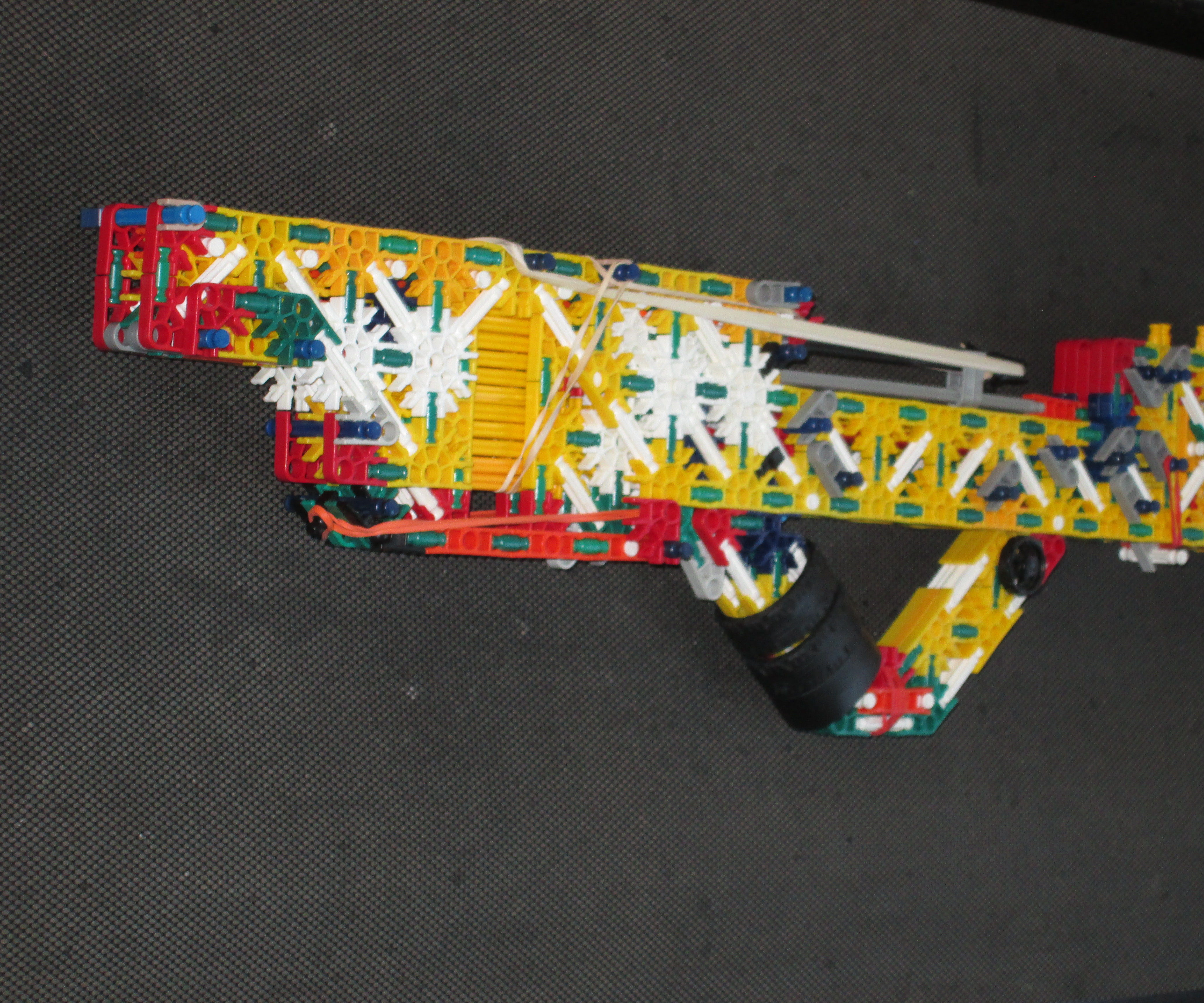 SKBR Sonic broom's knex rifle