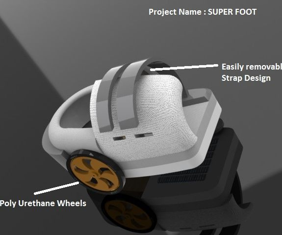 Super Foot - a Smart Companion for the Physically Challenged Using Intel Galileo