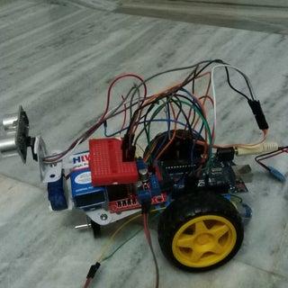 Obstacle Avoiding Robot (Arduino)