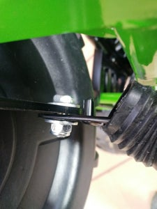 Modify Bump Stops on Steering Knuckles