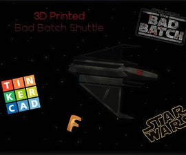 How to Make Star Wars Ships Using 3D Designing! (TinkerCad and Fusion 360)