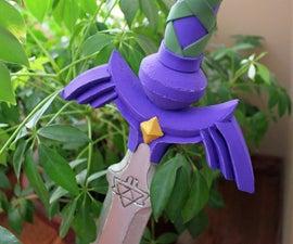Link's Master Sword From the Legend of Zelda: Hyrule Warriors