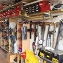 Garage / Workshop Tidy Up