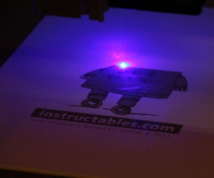 CNC Laser for Printing Images and Engraving - Shapeoko 2 Based