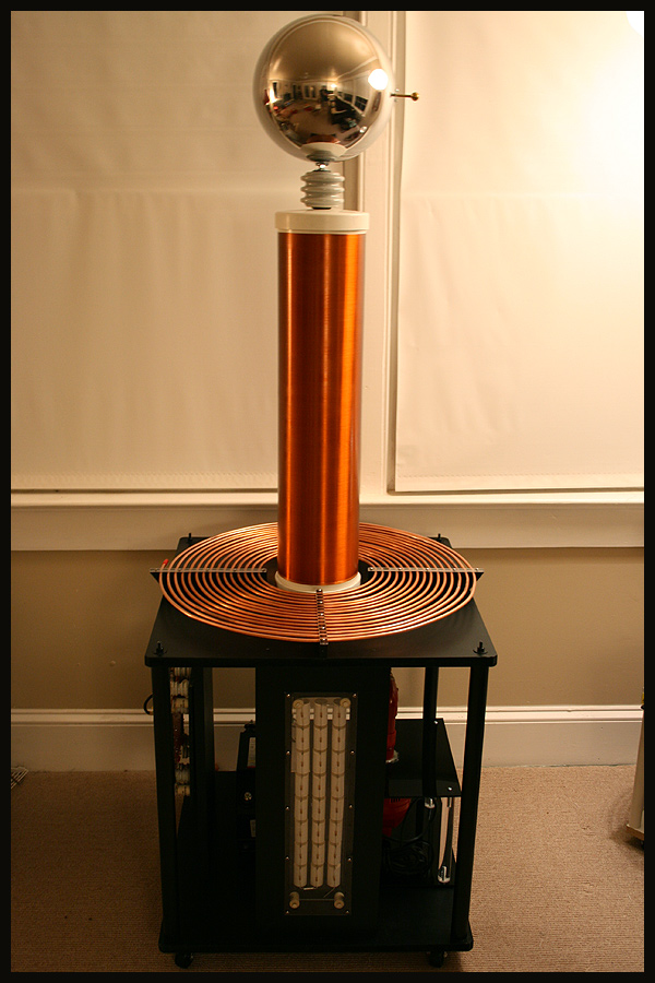 Jiffycoil's Tesla Coil projects