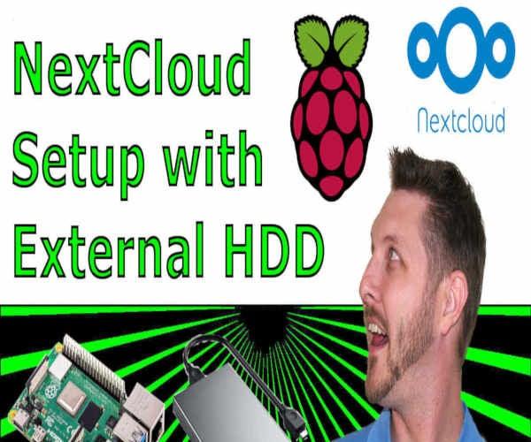 New Raspberry Pi 4 USB 3.0 Personal Cloud With RAID Backup