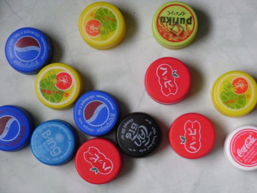 Make Fridge Magnets From Bottle Tops