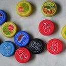 Make Fridge Magnets From Bottle Tops