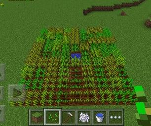 Minecraft Pe Wheat Farm