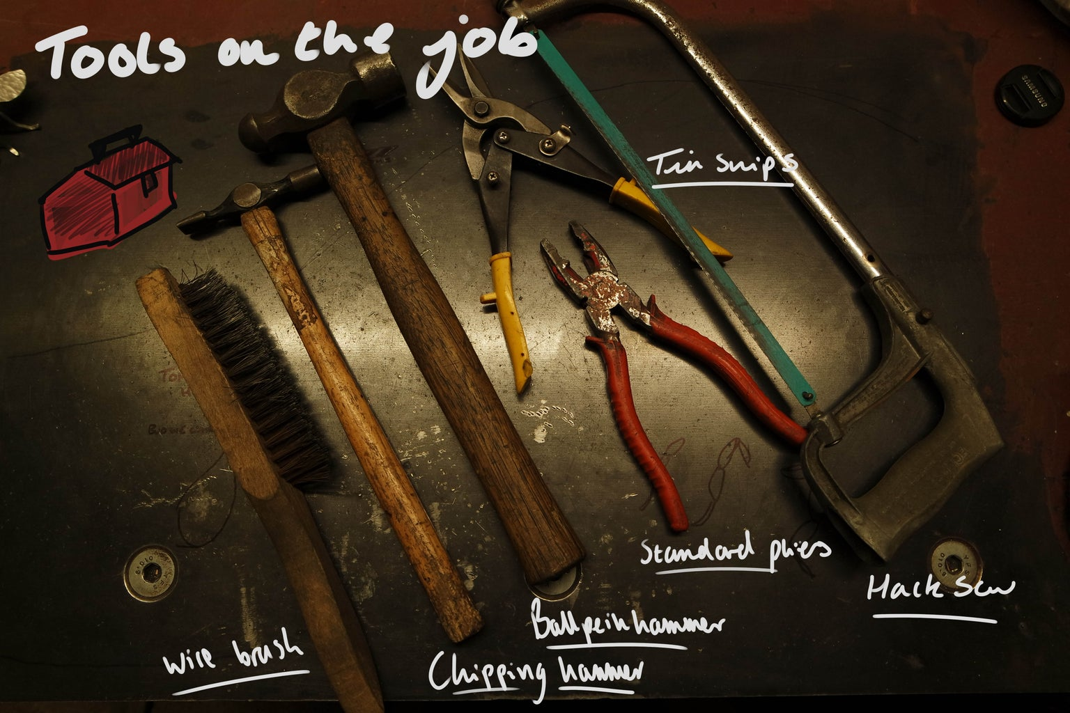 Tools and Parts